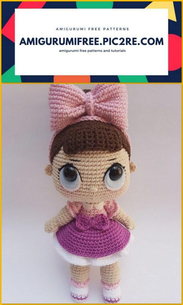 Amigurumi Doll Pattern Crochet Anime Female Girl Plush | Etsy | 1024x614
