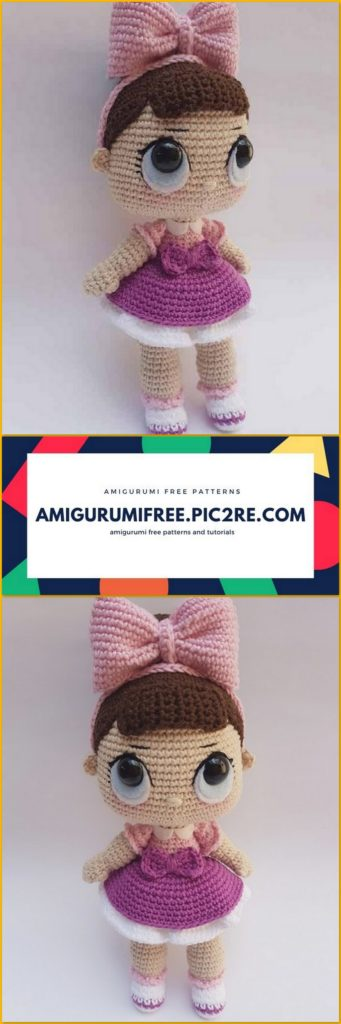 attaching yarn hair to crochet doll | craftgawker | 1024x341