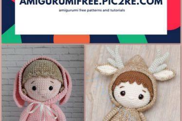 20+ FREE Crochet Doll Patterns (Free Crochet Patterns and ... | 249x374