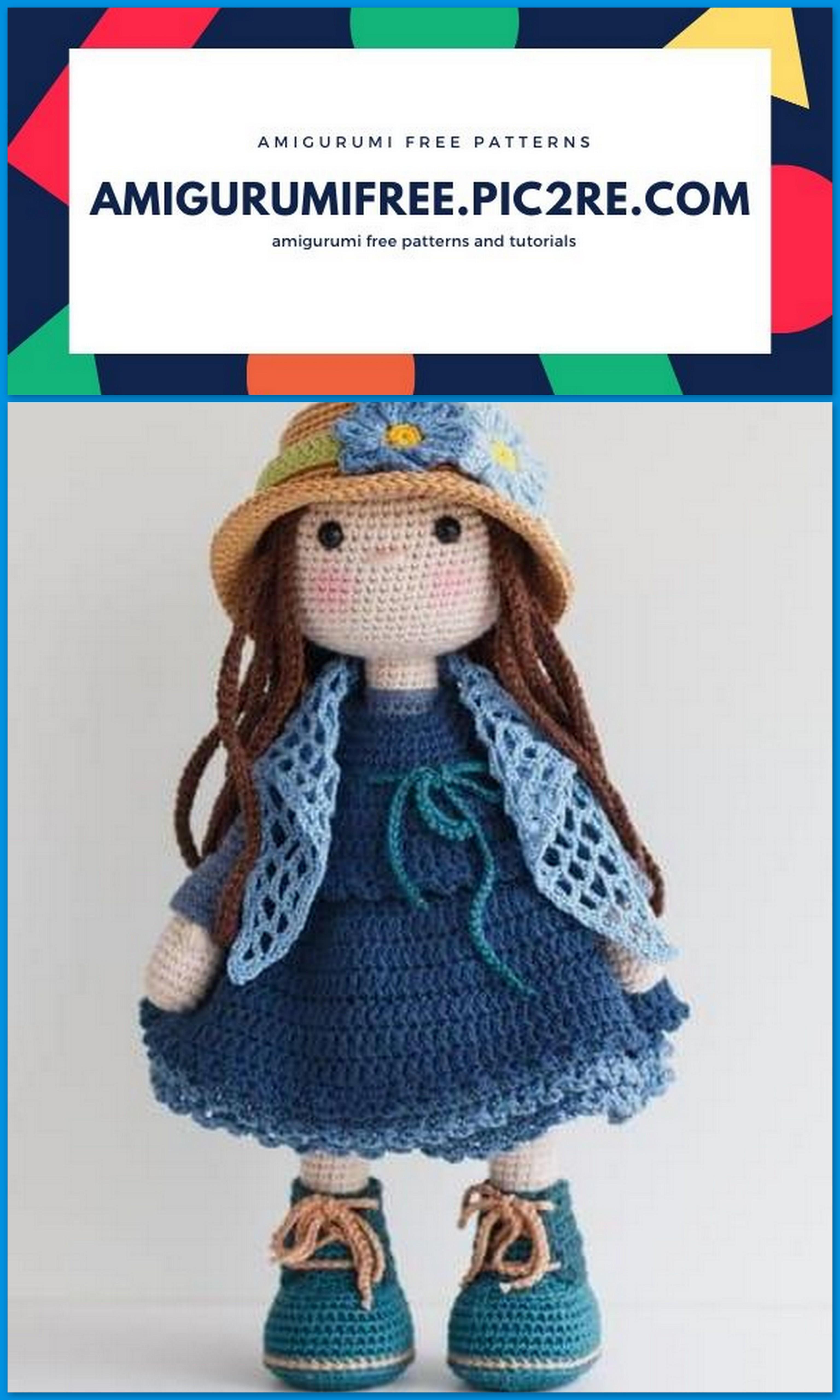 Amigurumi Doll Crochet Pattern | 5120x3072
