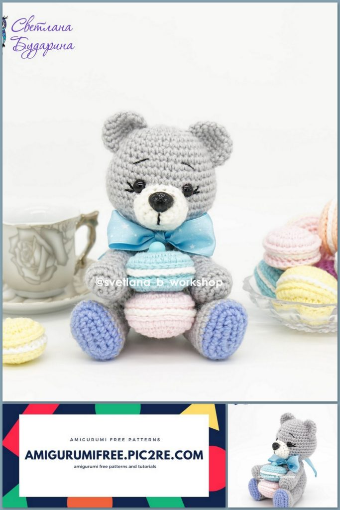 Teddy Bear Sleeper - Amigurumi - Free Crochet Pattern | 1024x683