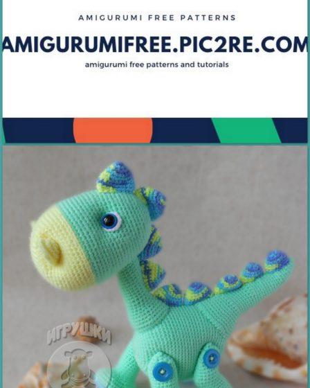 Roar! 10 Free #Crochet Dinosaur Patterns! - Moogly | 560x448