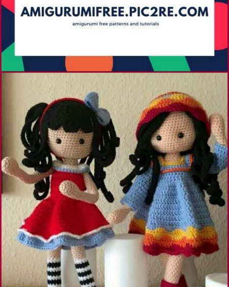 Amigurumi Crochet Happy Hallowen And Cute Witch Patterns ... | 560x448