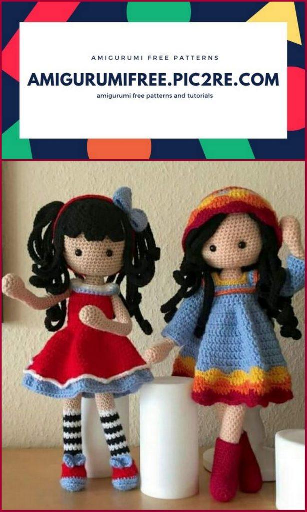 Amigurumi crochet doll pattern: Milena Doll   1024x614