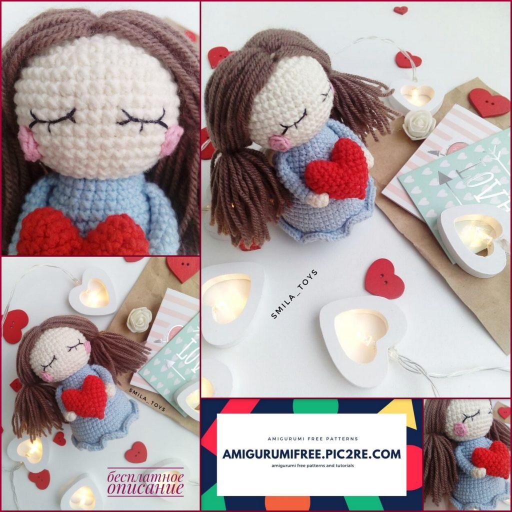 34+ Pretty Crochet Amigurumi Doll Pattern - crochetnstyle.com | 1024x1024