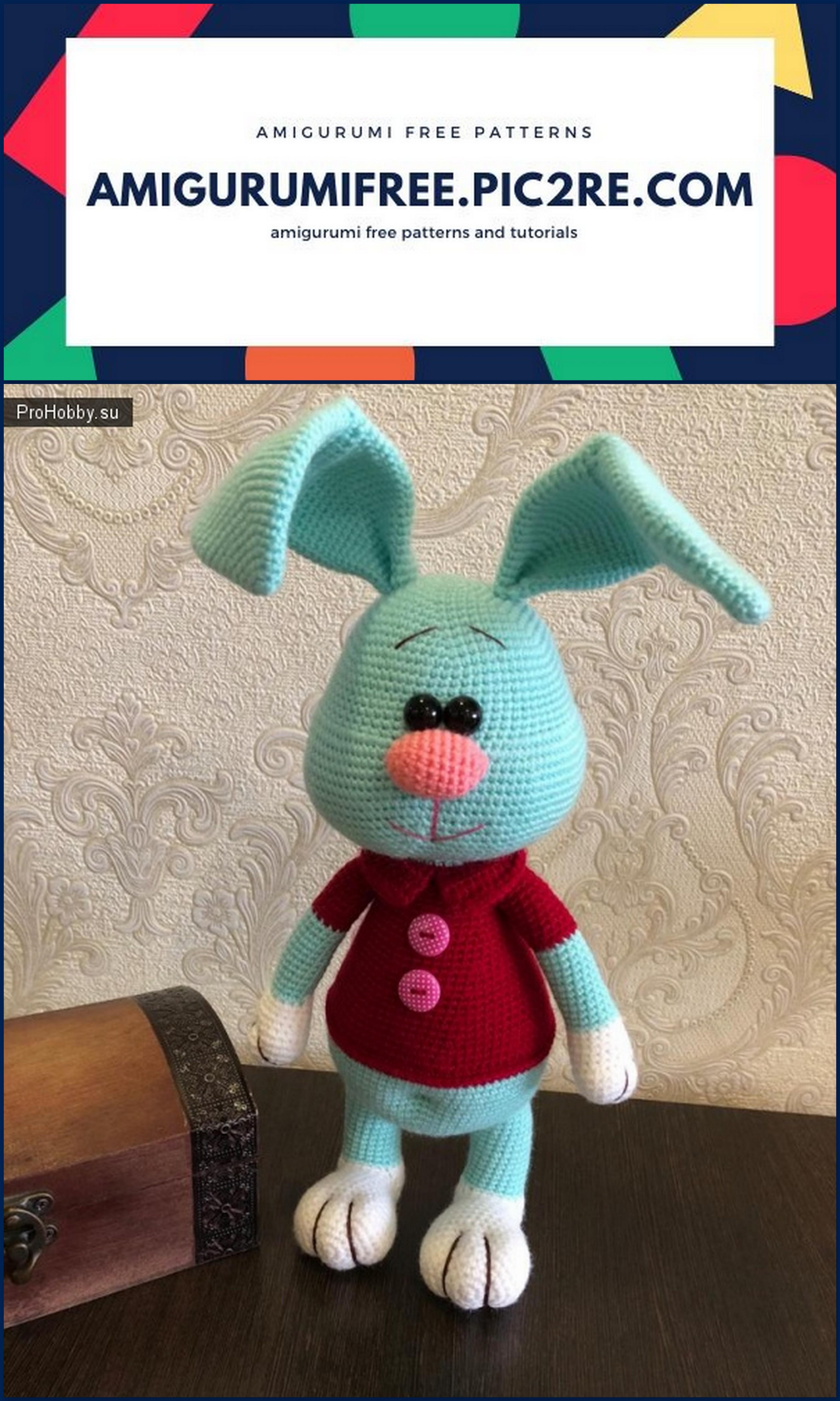 Amigurumi Cute Bunny Free Pattern | Häkeln für kinder ... | 5120x3072