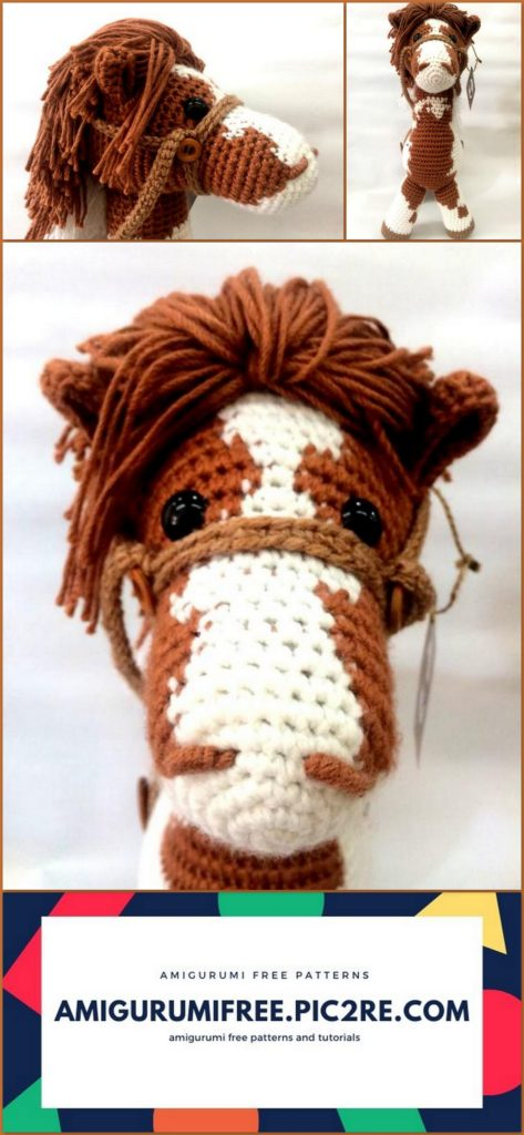 Haley the Horse Amigurumi Crochet Pattern | 1024x473